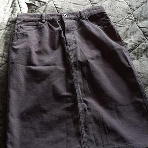 Gap corduroy beige skirt